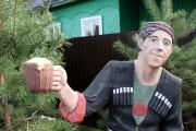 Садовая скульптура «Балбес (цветной)»