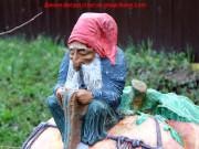 Садовая скульптура «Тыква»