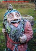 Садовая фигурка «Дед Лесовик (Цветник)»