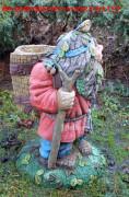 Скульптура для сада «Дед Лесовик (Цветник)»