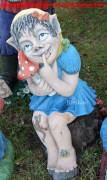 Садовая скульптура «Кикимора»