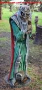 Садовая скульптура «Кощей»