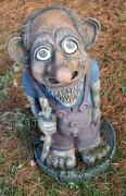 Садовая скульптура «Троль»