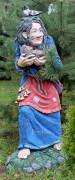 Фигура для сада «Кикимора с ежом»