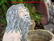 Садовая фигурка «Банный — запарник для банных веников»