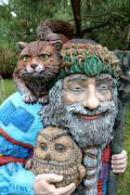 Садовая скульптура «Сказочник»