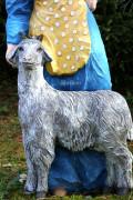 Фигура для сада «Баба с козой»
