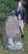 Садовая фигурка «Камень придорожный»