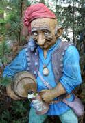 Садовая скульптура «Трактирщик»