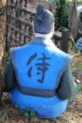Фигура для сада «Самурай»
