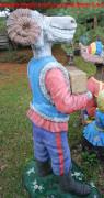 Скульптура для сада «Баран с гармошкой»