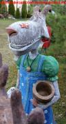 Скульптура сказочного персонажа «Коза-дереза»
