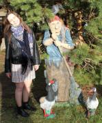 Садовые фигурки «Гуси»