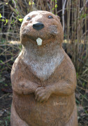 Садовая скульптура «Бобёр большой»