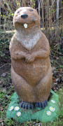 Фигура для сада «Бобёр большой»