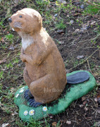 Скульптура для сада «Бобёр большой»