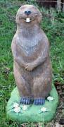 Садовая скульптура «Бобёр маленький»