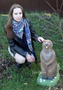 Садовая фигурка «Бобёр маленький»