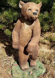 """Садовая фигура """"Медведь стоящий"""""""