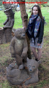 Садовая фигурка «Медведь стоящий»