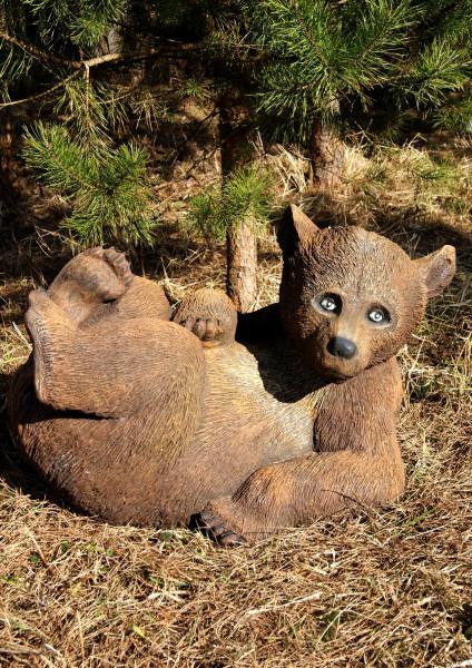 """Садовая фигура """"Медведь лежит"""""""