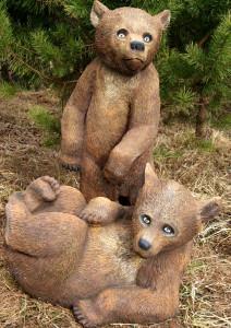 """Садовая фигура """"Медвежата"""""""