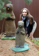 Садовая фигурка «Суслик большой»