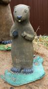 Садовая скульптура «Суслик малый»