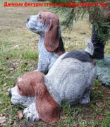 Уличная скульптура «Щенки»