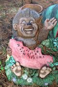 Скульптура для сада «С днём рождения (цветник)»