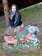 Садовая фигурка «С днём рождения (цветник)»