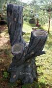Фигура для дачи «Дерево (Цветник, 4 кашпо)»