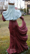 Садовая скульптура «Снегурочка»