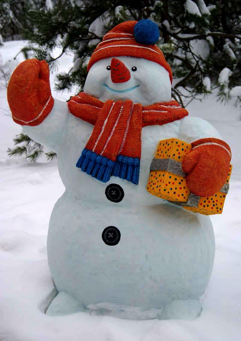 Большой снеговика 88