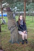 Садовая фигурка «Ворон на пне»