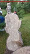 Декоративная мебель «Кресло-пень с совой»