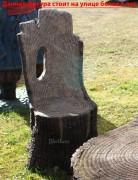 Мебель для дачи «Кресло-пень (маленькое)»