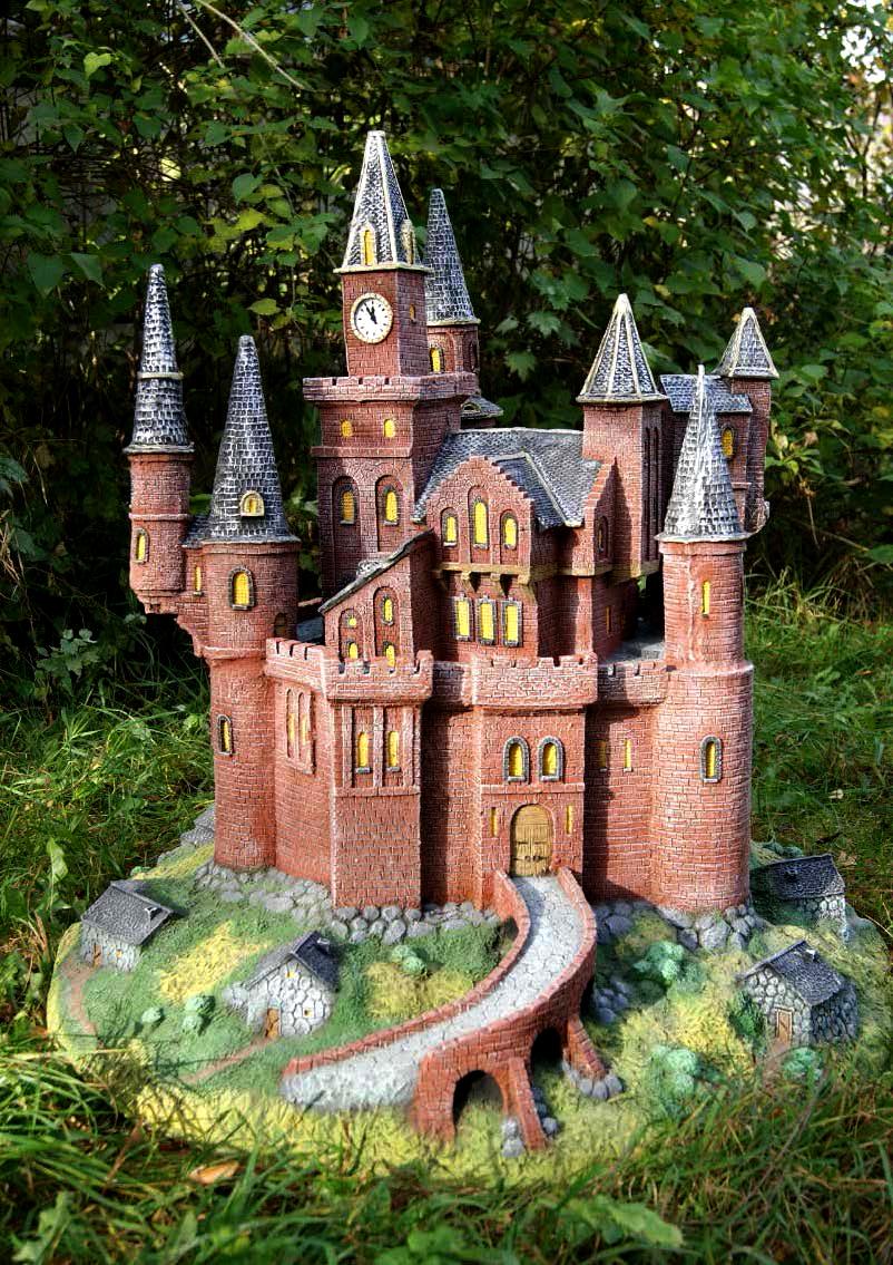 Замок своими руками построить 488