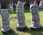 Садовая скульптура «Идол-Оберег на счастье»