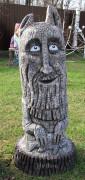Садовая скульптура «Идол-Оберег на удачу»