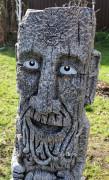 Скульптура для сада «Идол-Оберег на достаток»