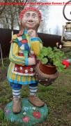 Садовая фигурка  «Эльф цветочница»
